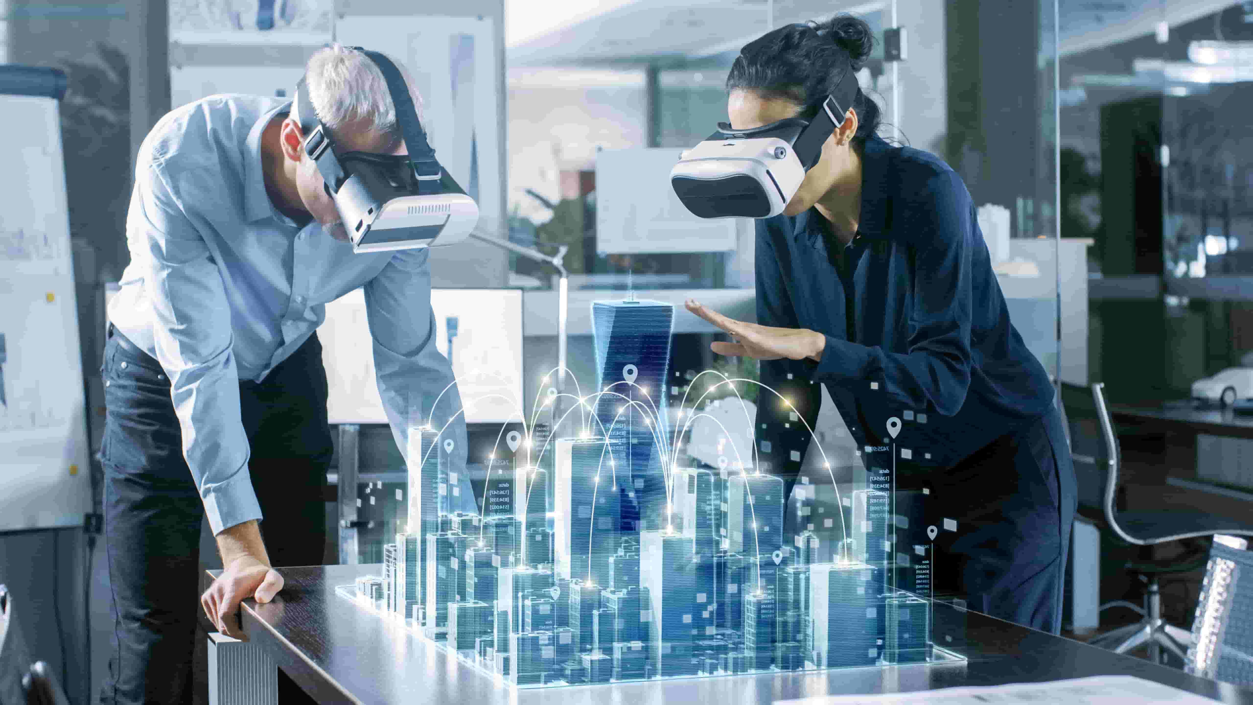 Exampleof virtual reality NCube