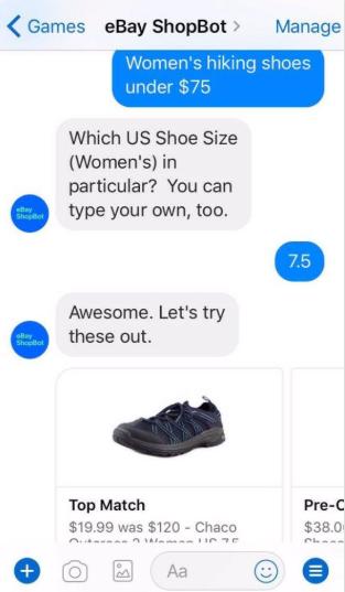 Ebay Chatbot