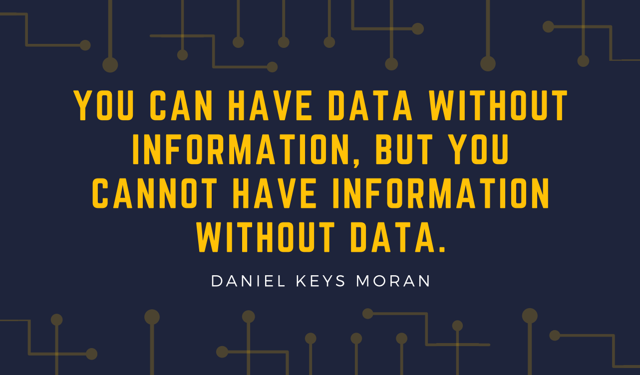 Quote about Big Data and information