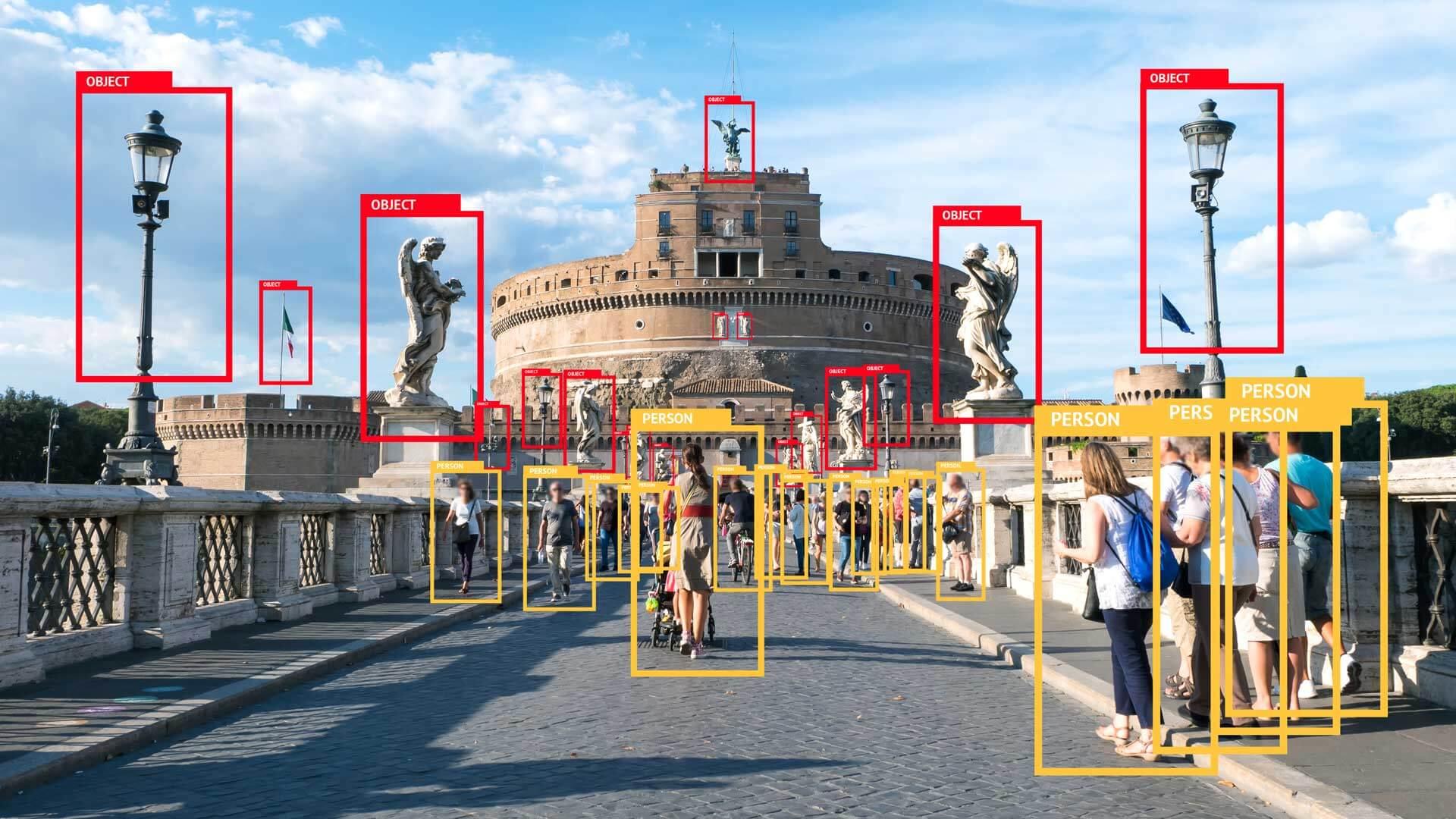 machine vision recognition